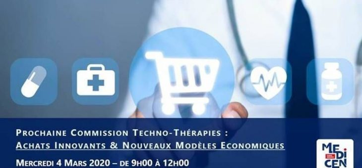 SGE CONSULTING à la Commission Techno-Thérapies de MEDICEN